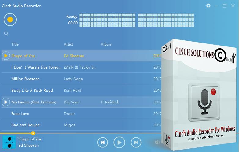 CINCH AUDIO RECORDER