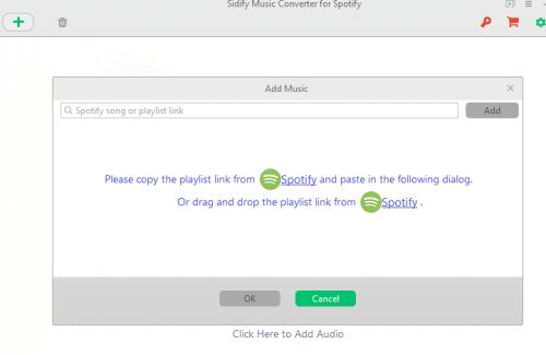 add spotify playlist