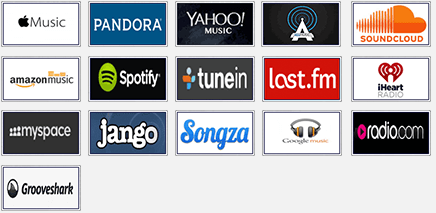 streaming music sites