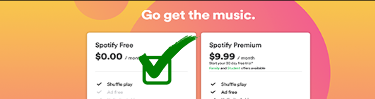 spotify-offline-music free account
